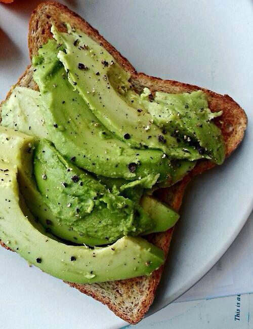 Toast & Avocado | Cravings. | Pinterest