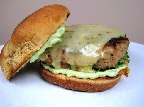 Salsa Verde Turkey Burgers with Avocado Aioli! Use GF breadcrumb ...