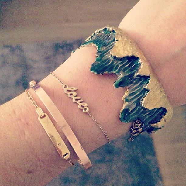 How cool is this Mimi di N vintage bracelet?!