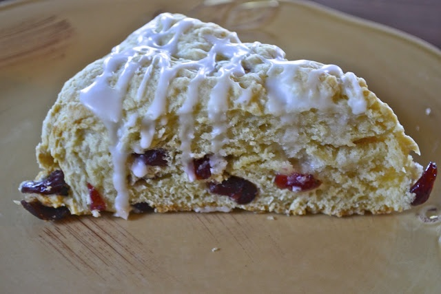 lemon and cranberry scones | Healthy Breads | Pinterest