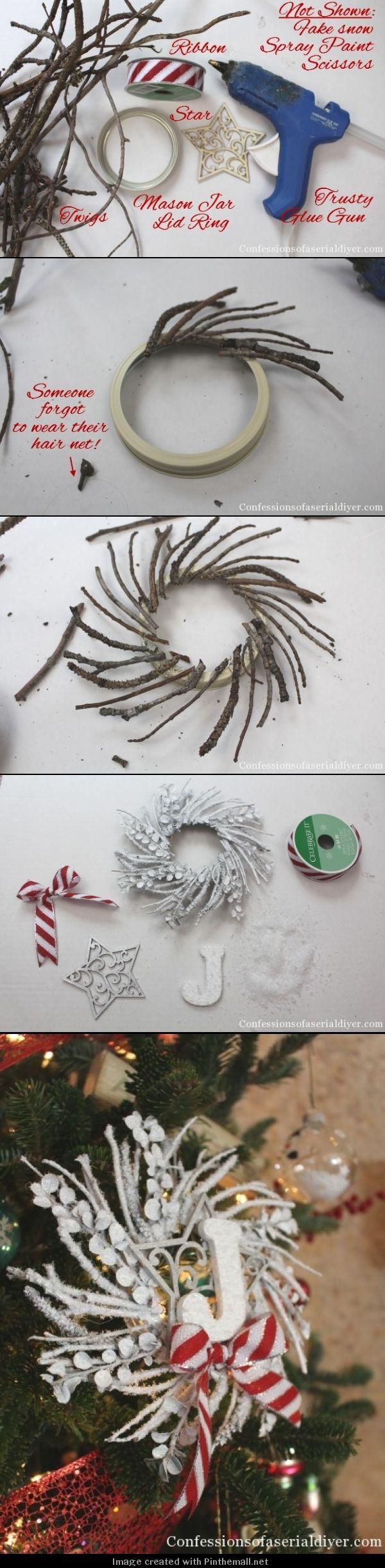 как сделать новогодний венок