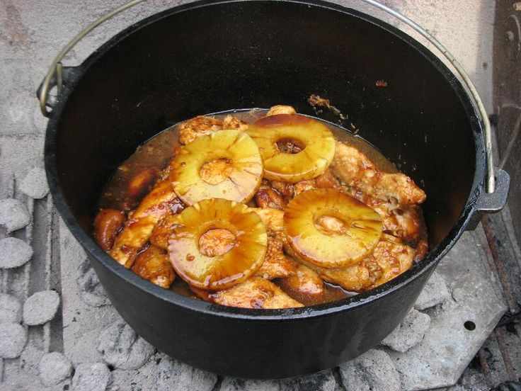 Pineapple Chicken | Camping | Pinterest