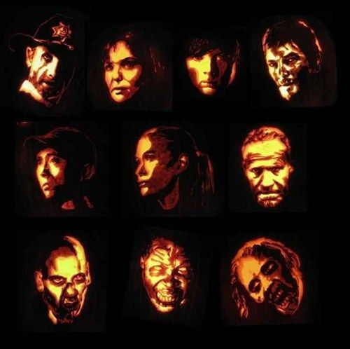 Happy halloween of for by the walking dead