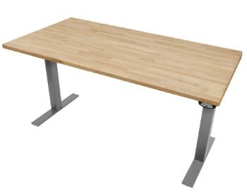 desk ikea butcher block diy home pinterest