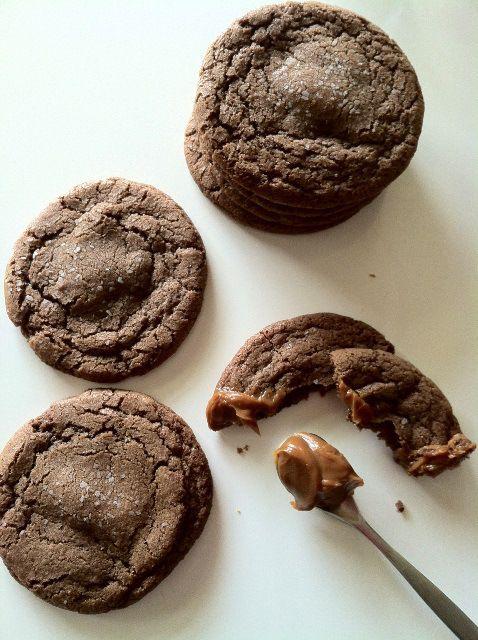 Dulce De Leche And Nutella Thumbprints Recipe — Dishmaps