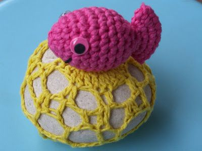 peixe de crochê   Uma boa ideia   Pinterest