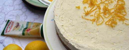 Lemon & Ginger Cheesecake | Recipes - sweets and desserts | Pinterest