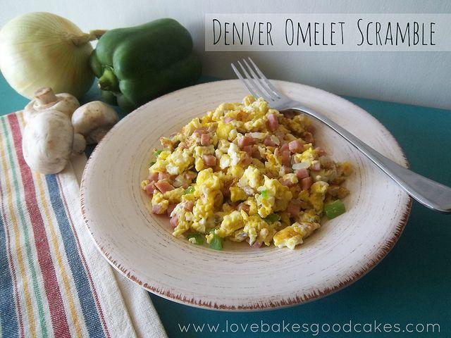 Denver Omelet Scramble by lovebakesgoodcakes, via Flickr