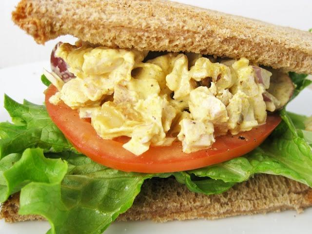 Curried Turkey Salad Sandwich | Favorite Recipes | Pinterest