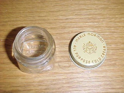 Vintage Merle Norman Cold Cream Glass Jar 1 2 Oz | eBay