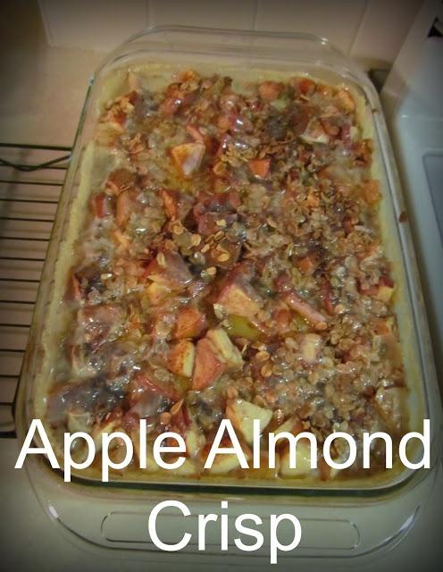 Apple Almond Crisp | Sweets | Pinterest