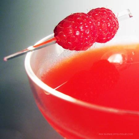 Clover Club Raspberry Martini, sipping right now....devine!