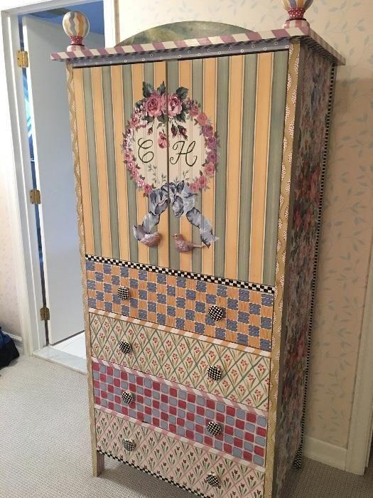 Как украсить старый шкаф своими руками в домашних условиях 445