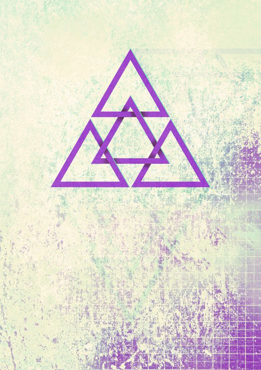 Тату геометрия треугольник эскизы
