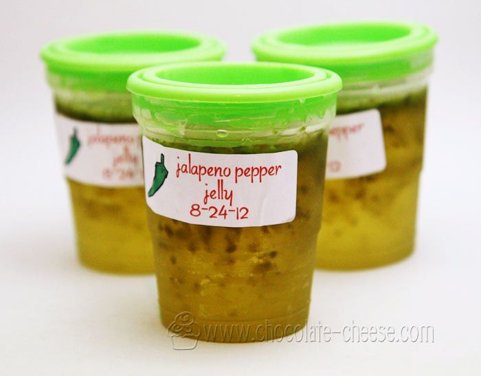 Recipes: Jalapeno Pepper Freezer Jelly | Food... Canning | Pinterest