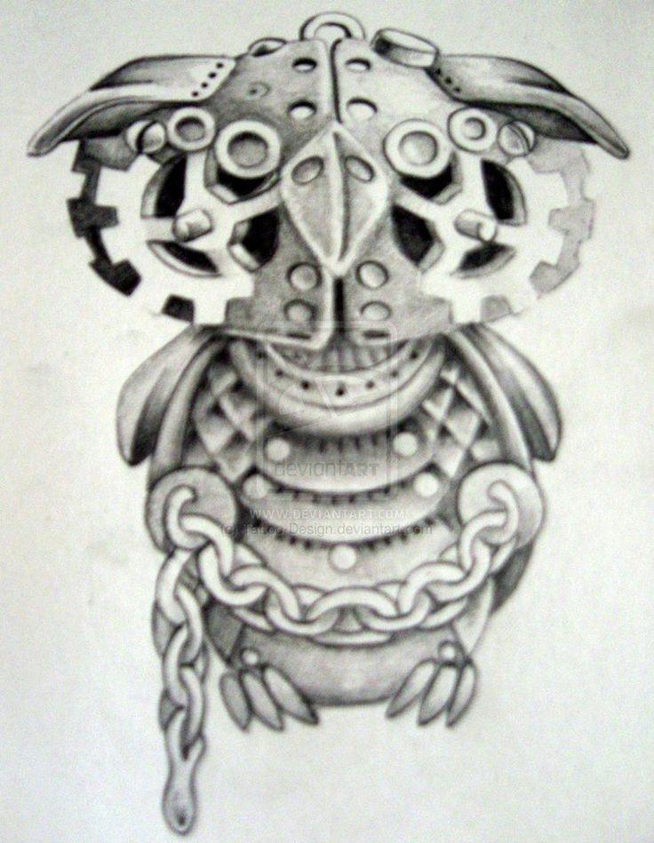 Steampunk animal drawings
