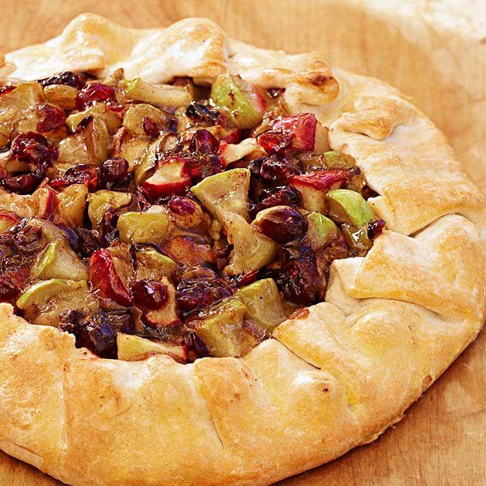 Apple tart. Harvest party | Fall Foods | Pinterest
