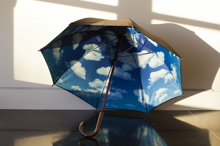 Stay dry under a blue sky. The classic MoMA umbrella is available at the Crocker Art Museum Store.