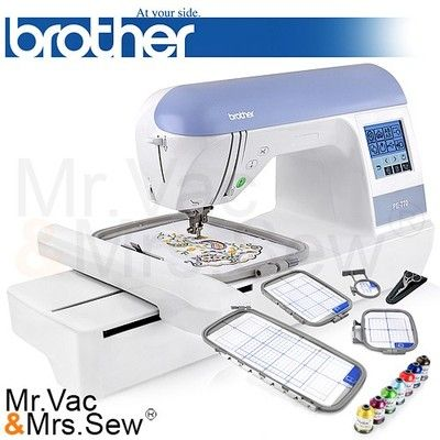 pe770 embroidery machine problems