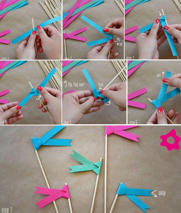 Ideas Diy Decoracion Hogar ~ Banderines #diy  I Love  Pinterest