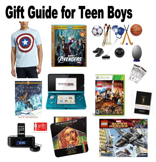 Christmas Toys For Teenage Boys : Gifts for teen guys when
