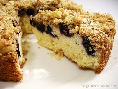Blueberry Crumble Cake | Food & Recipes | Pinterest