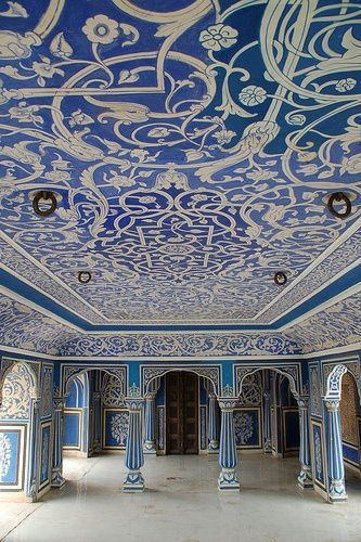 Blue Room, City Palace - Jaipur, India