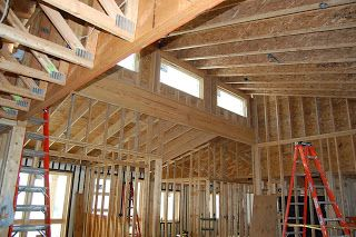 Pin by jennifer stewart on if we build pinterest for Clerestory roof truss design