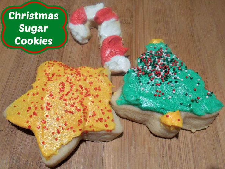 Christmas Sugar Cookies And Frosting From Scratch Recipe #cookies # ...