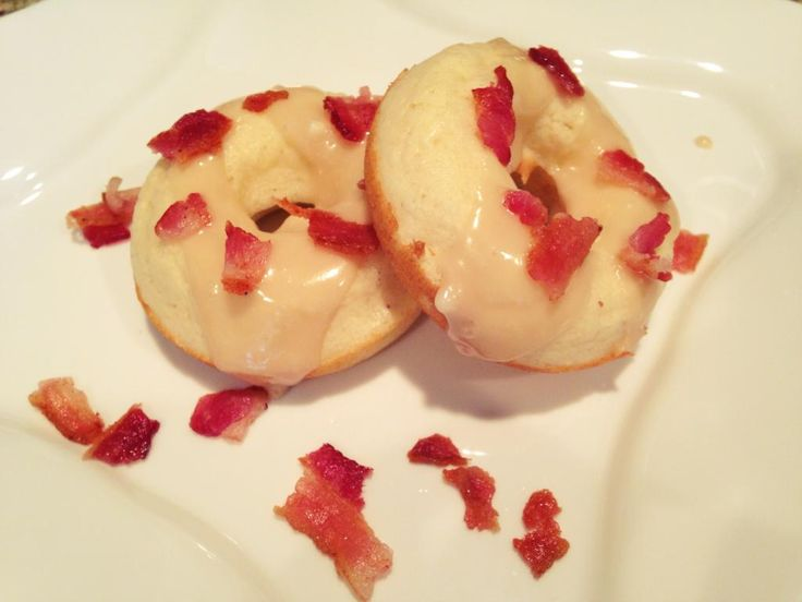 Homemade maple bacon donuts!! | Soup of the Day Blog | Pinterest
