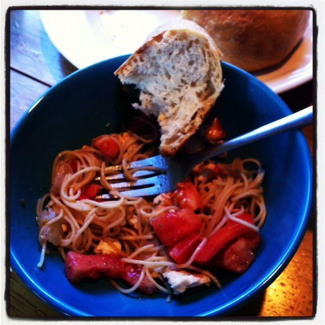 Caprese Chicken Pasta - A Cedar Spoon