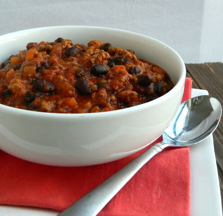 Black Bean and Beef Chili | Yummy Soups | Pinterest