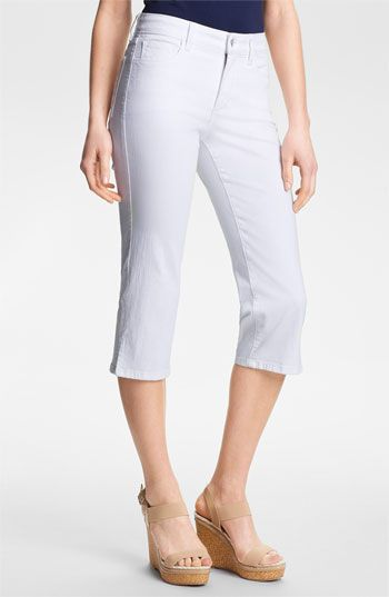 NYDJ 'Nanette' Crop Stretch Jeans available at #Nordstrom
