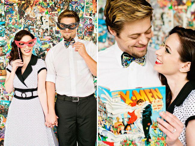 Comic Book Anniversary Photos