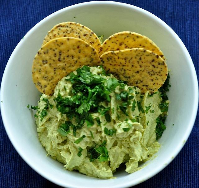 Avocado Hummus | Recipes | Pinterest