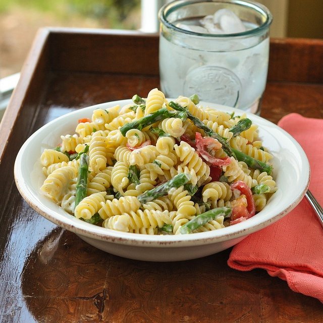 goat cheese and asparagus pasta-2 by Good Thymes and Good Food, via ...