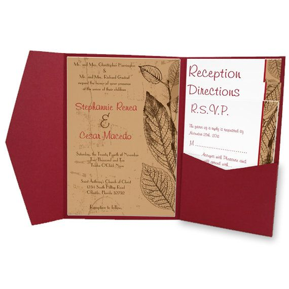 ... FILES - Diy Wedding Invitation & Mailing Template Set - Customized