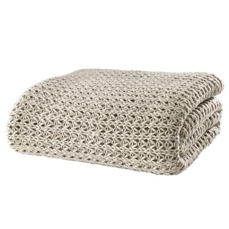 chunky knit throw dunelm mill home pinterest. Black Bedroom Furniture Sets. Home Design Ideas