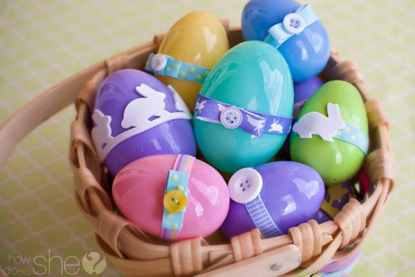 Turn Those Extra Plastic Easter Eggs into Musical Shaker Eggs!