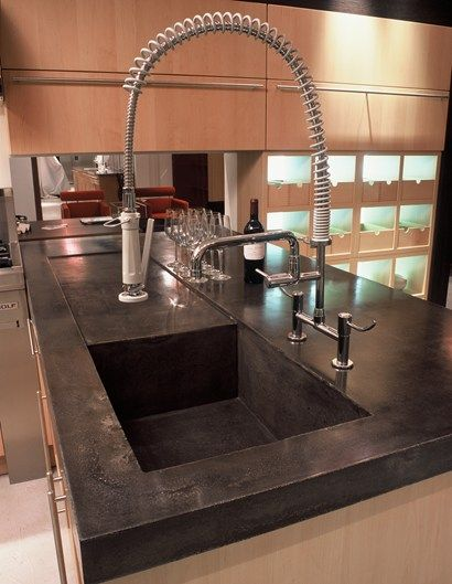 Concrete Sinks - Miami, FL - Photo Gallery - The Concrete Network