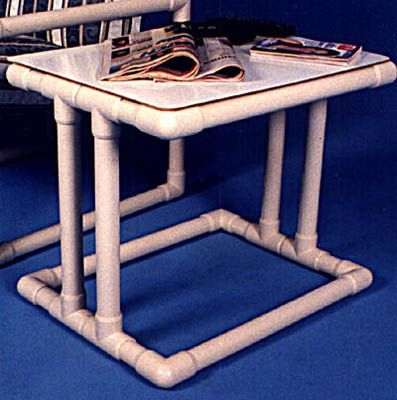 Pvc Table For Indoors Or Patio Household Crafts Cool