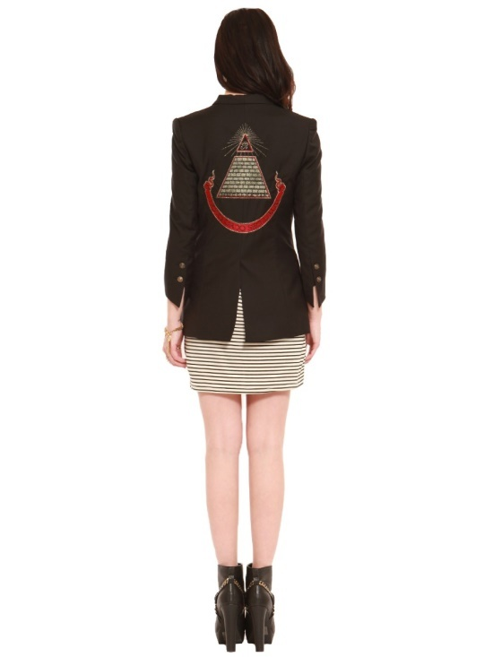 All seeing eye blazer clothes gypsy warrior