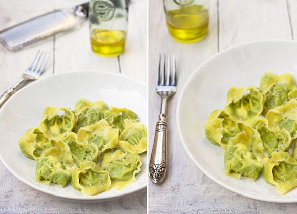 and parmesan wonton ravioli recipes dishmaps pea and parmesan wonton ...