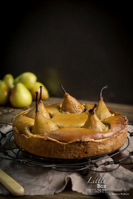 Masala Chai and Caramelised Pear Tart