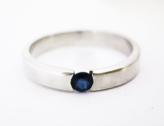 simple sapphire ring clothes nails jewelry