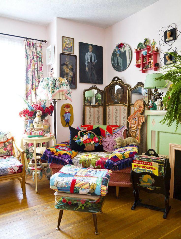 Bohemian decor bohemian rhapsody boho pinterest - Deco style boheme chic ...
