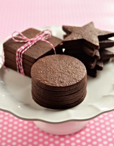 The perfect dark chocolate sugar cookie. Even better if you sandwich ...