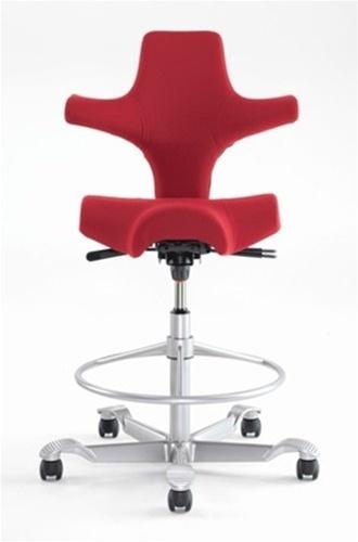 Capisco saddle seat stool by Hag Saddles & Seats