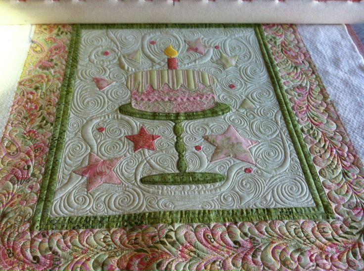 Birthday Cake Quilt Block Pattern