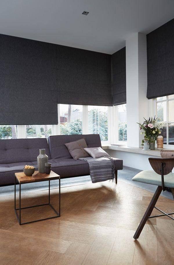 Gris junto con el blanco un color neutro y vers til para for Cortinas para paredes grises